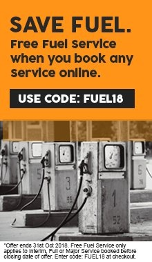 Free fuel service with any serviceT