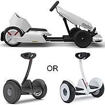 image of Segway Ninebot S Hoverboard and Go Kart Conversion Kit Bundle