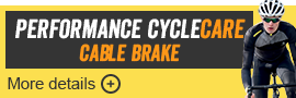 Performance CycleCare Cable Brakes