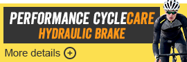 Performance CycleCare Hydraulic Brakes