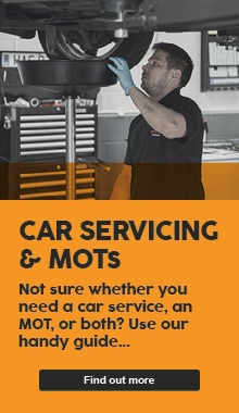 The difference between a car service and an MOT