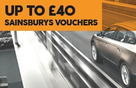 Up to £40 Sainsburys vouchers