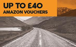 Up to £40 Amazon gift vouchers with Firestone tyres