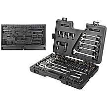 image of Halfords Advanced 90 Piece Socket Set & Empty Piece Tray Bundle