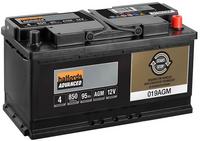 Halfords Start/Stop 12v AGM Battery AGM019