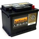 Halfords Stop/Start 12v EFB Battery EFB013