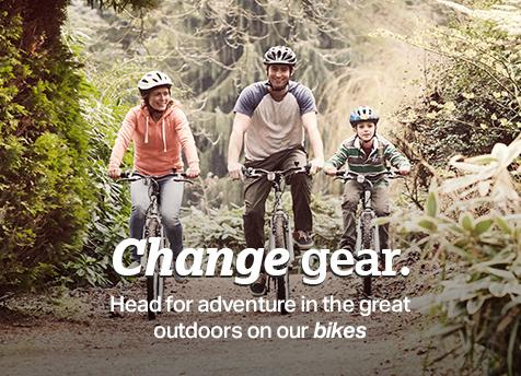 Change gear with our bikes