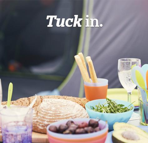 Tuck in with our range of outdoor cooking and camping accessories