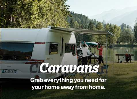 grab everything you need for your home away from home
