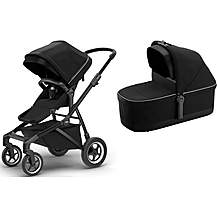 image of Thule Sleek with Bassinet Travel System Bundle