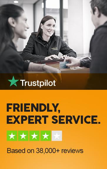 Trustpilot - 4 out of 5 customers would recommend us.