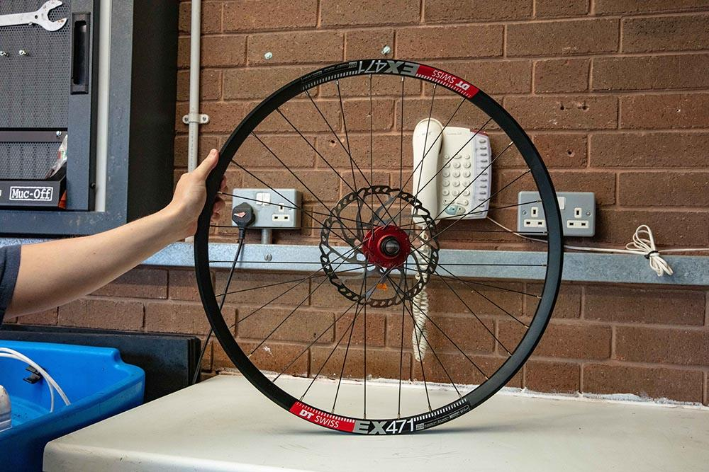 Tubeless ready wheelset