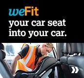 weFit your car seat into your car