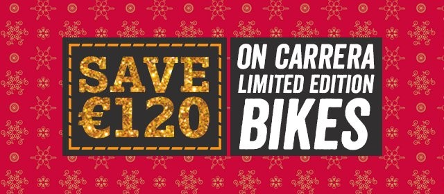 Up to 20% off Boardman and Voodoo bikes