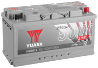 Yuasa 12v Silver Battery HSB019