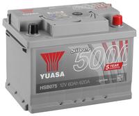 Yuasa 12v Silver Battery HSB075