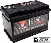 Yuasa Black Lifetime Guarantee Battery 010