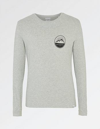 Wittering Surf Men's Long Sleeve Mountain T-Shirt