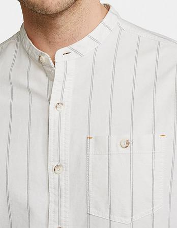 Barrett Stripe Grandad Shirt
