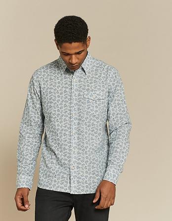 Farlington Fern Print Shirt