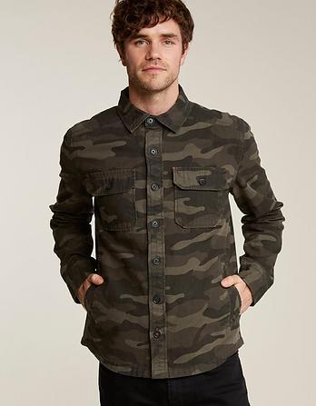 Camo Print Overshirt