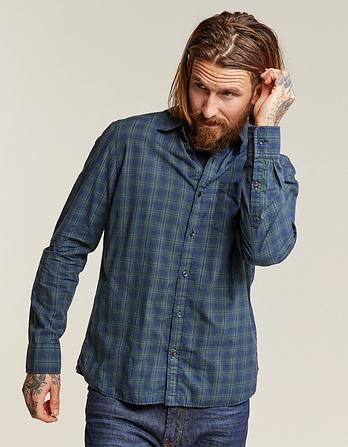 Burridge Marl Check Shirt