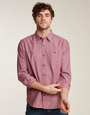 Southsea Geo Print Shirt