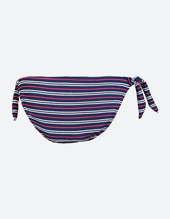 Variegated Stripe Tie Side Bikini Bottoms