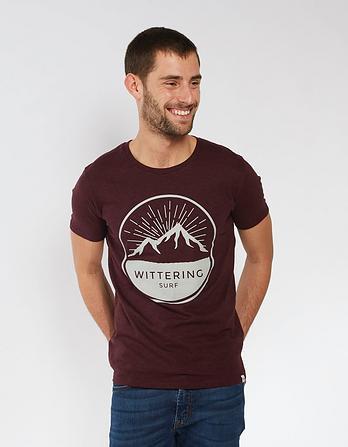 Wittering Surf Men's Short Sleeve Mountain T-Shirt