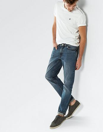 Salt Rinse Wash Slim Jeans