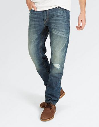 Artisan Rip And Repair Slim Jeans