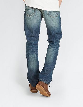 Artisan Rip And Repair Slim Jeans