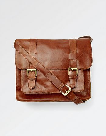 Claire Leather Satchel Bag