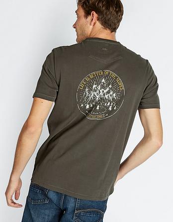 Adjust Your Altitude Graphic T-Shirt