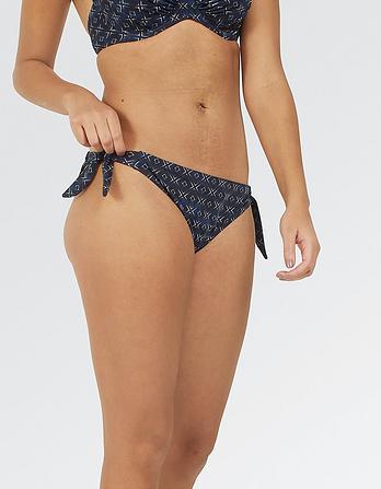 Geo Tieside Bikini Bottoms