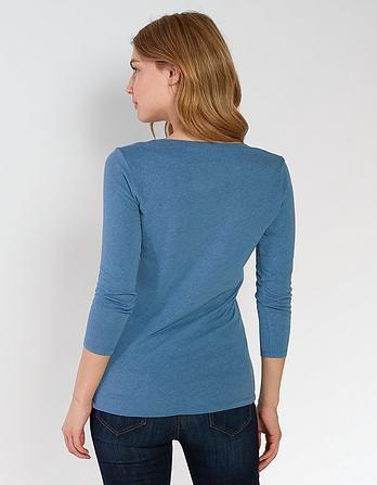 Laura Three Quarter T-Shirt