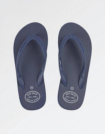 Portloe Plain Flip Flops