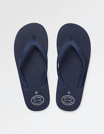 Henley Plain Flip Flops