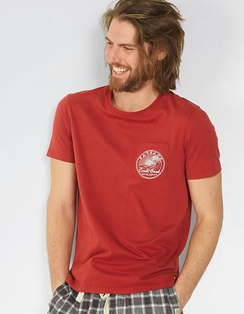 Pocket South Coast Graphic T-Shirt