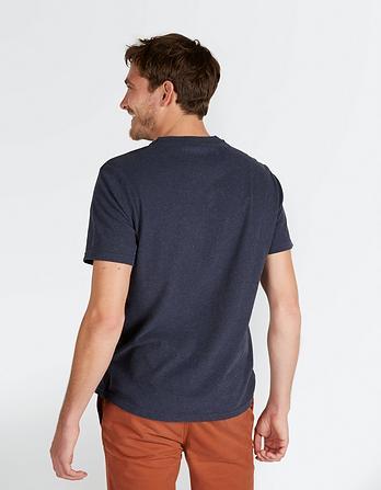 Organic Cotton Marl Crew Neck T-Shirt