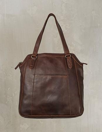 Tilly Oiled Leather Tote Bag