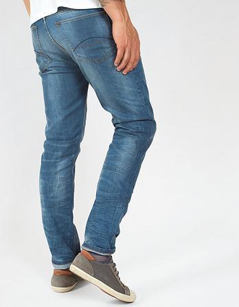 Mid Blue Water Slim Jeans