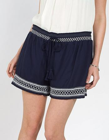 Lulworth Embroidered Shorts