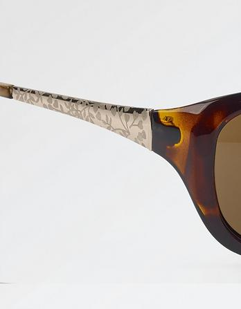 Rachel Engraved Arm Sunglasses