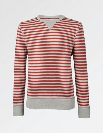 Breton Stripe Crew Neck Sweat