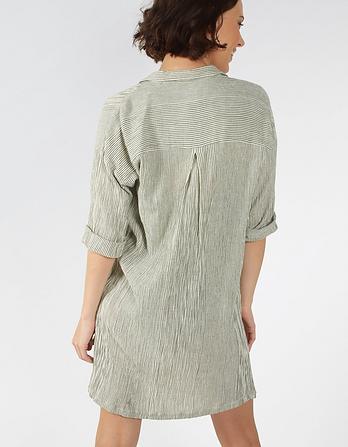 Littlestone Stripe Beach Shirt