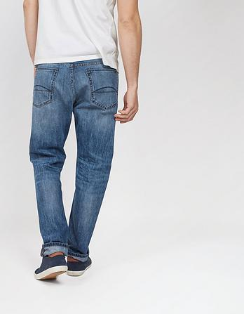 Mid Vintage Blue Tapered Jeans
