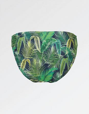 Tropical Macrame Bikini Bottoms