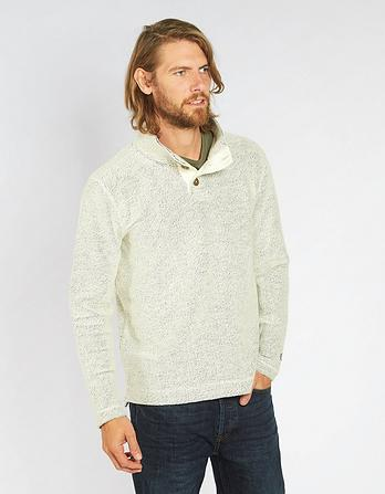 Cobham Textured Half Neck Sweat