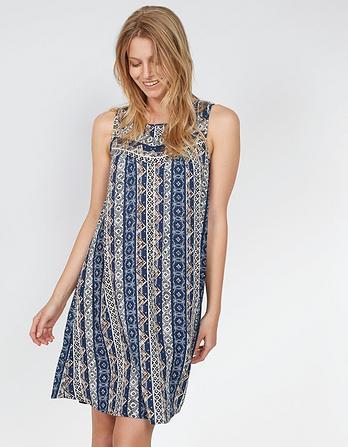 Abbie Vintage Flora Dress